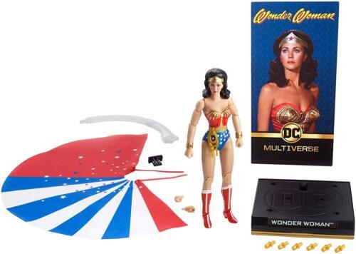 "DC Multiverse Signature Collection ~ 6.5/"" WONDER WOMAN FIGURE LYNDA CARTER"