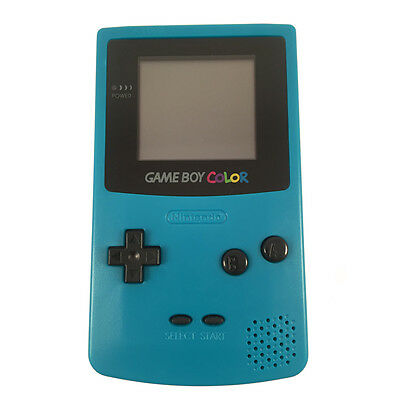 NINTENDO GAME BOY COLOR - Teal Blue Green Gameboy Colour FULLY REFURBISHED