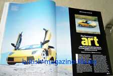 Evo Magazine Issue 71 - Lamborghini Mercielago Roadster