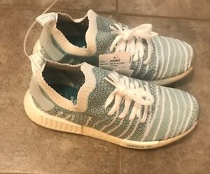 Adidas-Men-039-s-Parley-x-Adidas-NMD-R1-STLT-PRIMEKNIT-Shoes-Core-Sample-sz-9