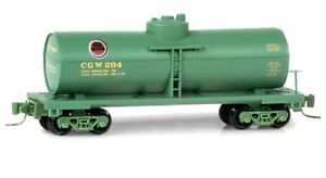 Z-SCALE-Chicago-Great-Western-39-039-Single-Dome-Tank-Car-MTL-530-00-360
