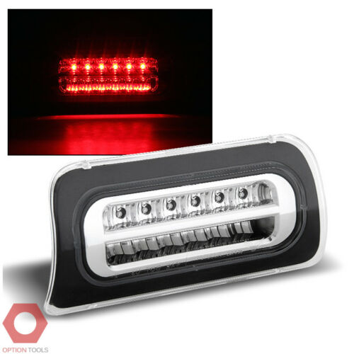 96-00 Hombre Lens w//Full LED 3rd Brake Light Clear Fits 94-04 S10 Sonoma