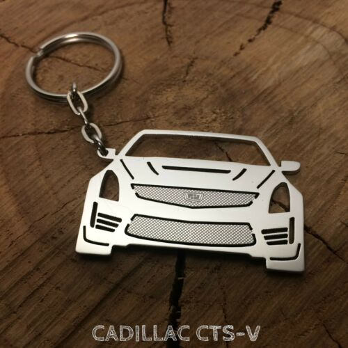 Cadillac CTS-V Stainless Steel Keychain