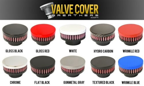 Hydro Carbon Valve Cover Breather Oil Cap Holley LS CAST Valve//Valley Covers