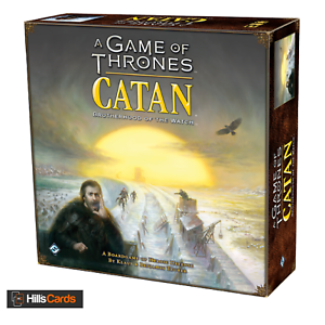 A Game Of Thrones Catan Bredherhood Of The Watch Board Game Fantasy Flight Games