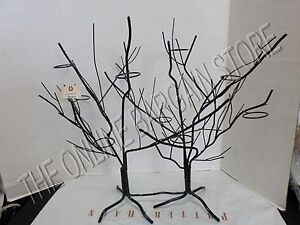 image is loading frontgate halloween black tree votive candle holder stand - Frontgate Halloween