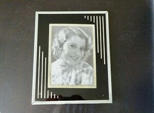 Art-Deco-Reverse-Painting-Frame-Glass-Vintage-Mid-Century-Jeanette-MacDonald