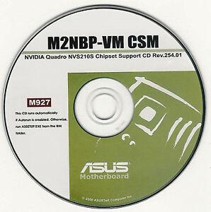 Asus m2nbp-vm csm motherboard drivers installation disk m927   ebay.