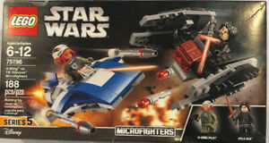 Lightsaber 75196 Minifigure A-Wing vs TIE Silencer LEGO NEW Star Wars Kylo Ren