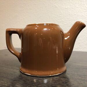 Vintage-Hall-Small-Brown-Teapot