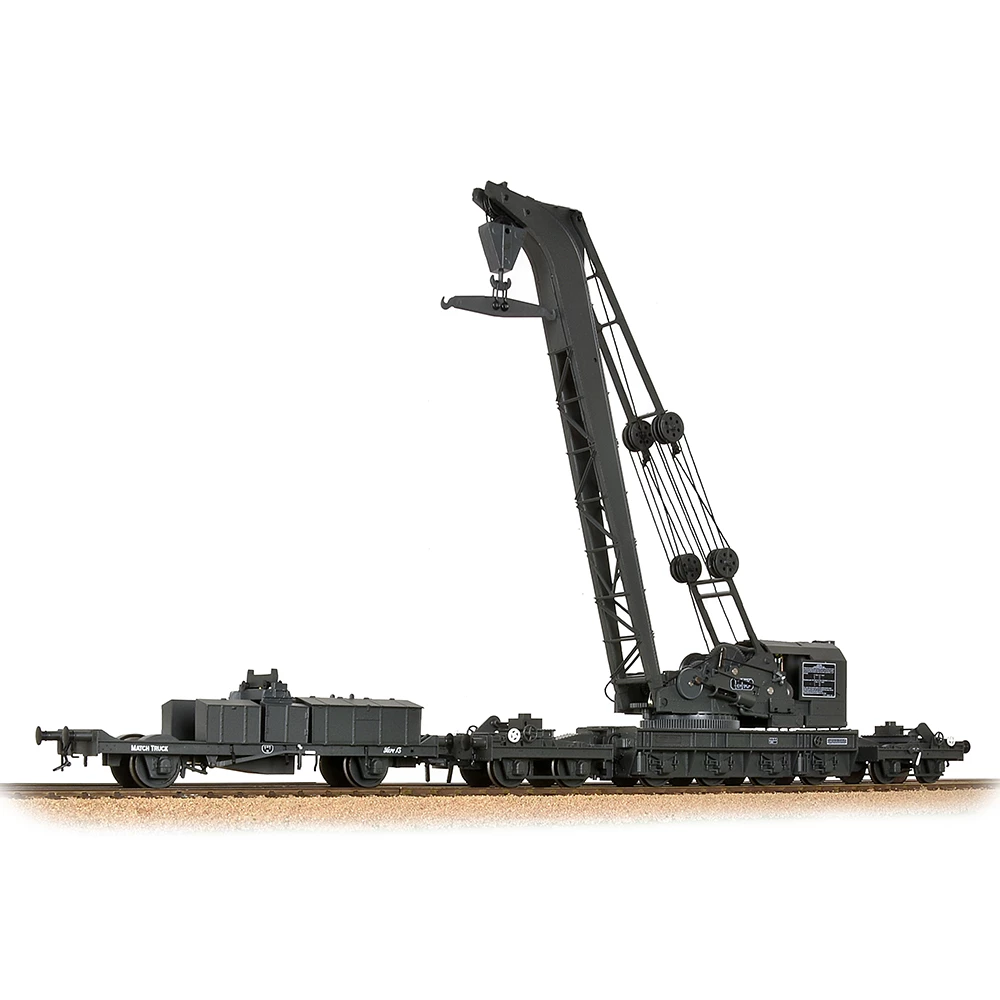 Bachuomon 38801 OO Gauge GWR grigio Ransomes & Rapier 45 Ton Breakdown Crane