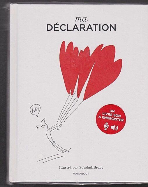 Saint Valentin Enregistrez votre propre DECLARATION d'amour AUDIO LIVRE SONS