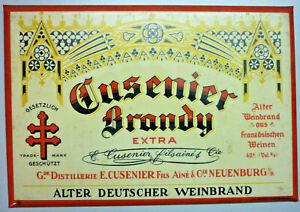 Advertising Sign, Original Cusenier (Art.5272)