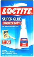 5g Loctite Super Glue Longneck Precision Tip Multi Purp No Drip Clear Adhesive