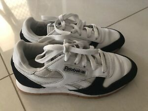 Details about REEBOK CL CLASSIC Leather Boys Kids SHOES TRAINERS Size 3 Youth RRP $99.95