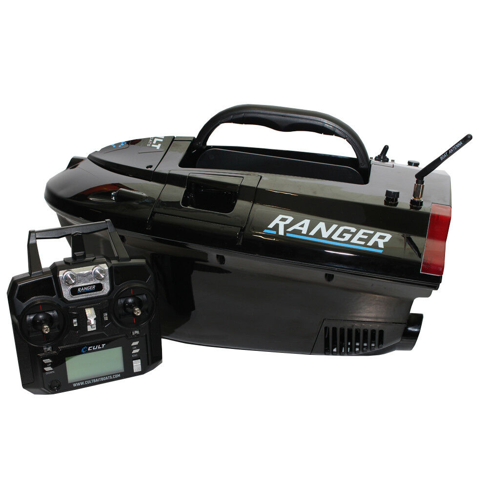 Cult Ranger Bait Boat With Lithium Batteries Batteries Batteries And Colour Fish Finder 0f572b