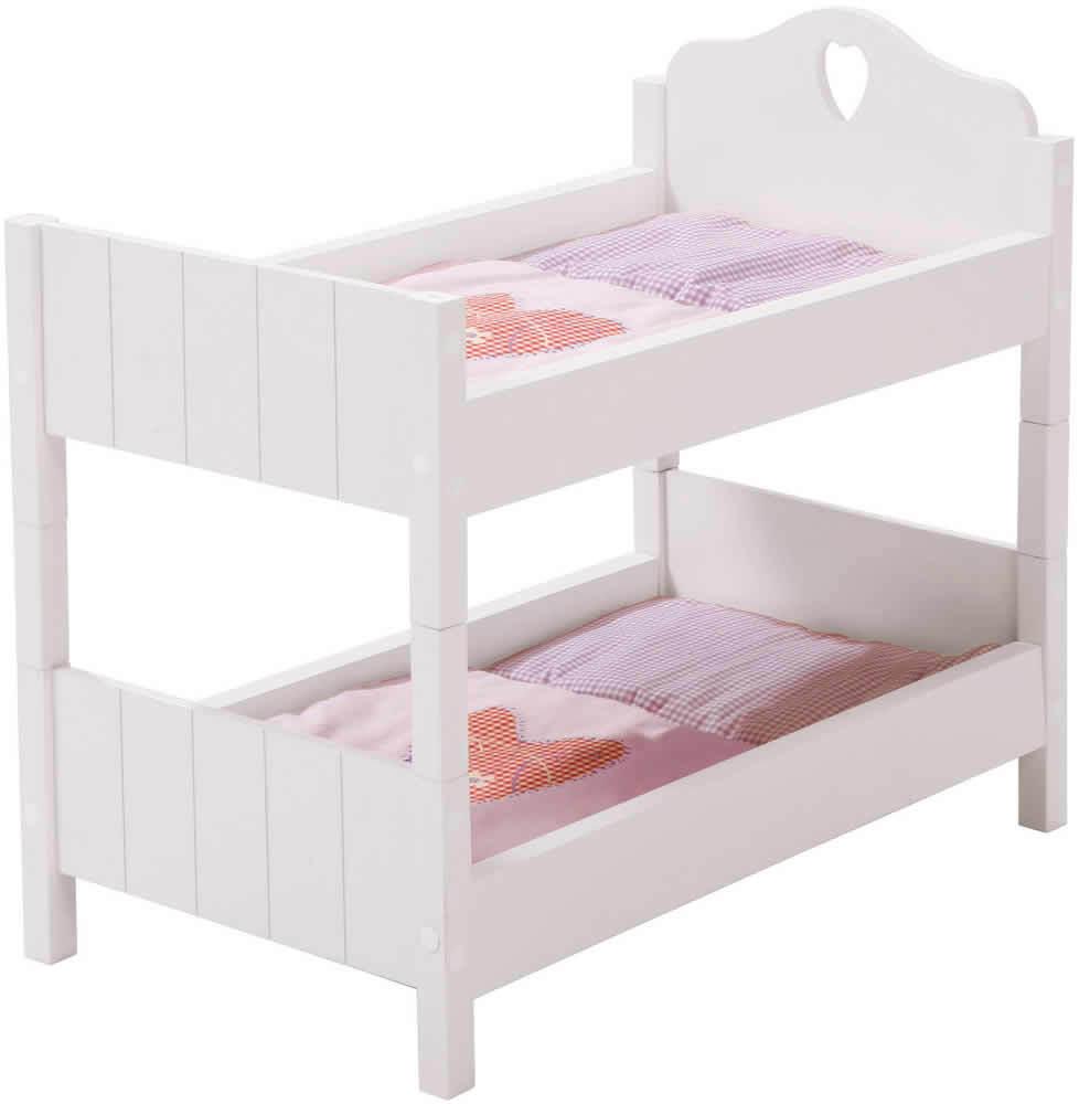 Roba Puppenetagenbett Fienchen Fienchen Fienchen Etagenbett Bett Puppen Holz d11635