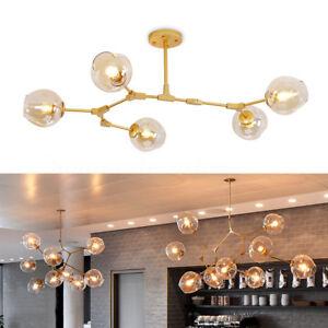 Image Is Loading Industrial Branching Vintage Ceiling Chandelier Lights  Home Pendant