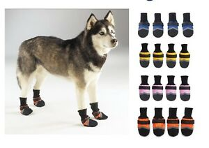 DURABLE-OXFORD-FABRIC-BOOTS-for-DOGS-For-use-in-Snow-Rain-and-All-Weather-NWT