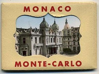 Souvenir photo packet Monte Carlo, Monaco 1940s? - 12 photos complete