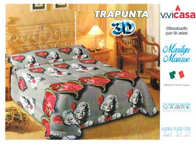 Trapunta Hello Kitty Gabel.Trapunta Invernale 3d Piumone Marilyn Monroe Singola Matrimoniale 1p Mezzo Ebay
