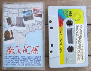 BACK HOME Artisti Vari, Various (1987) MC TAPE ORIGINALE CGD - 30 COM 20628 - Italia - BACK HOME Artisti Vari, Various (1987) MC TAPE ORIGINALE CGD - 30 COM 20628 - Italia