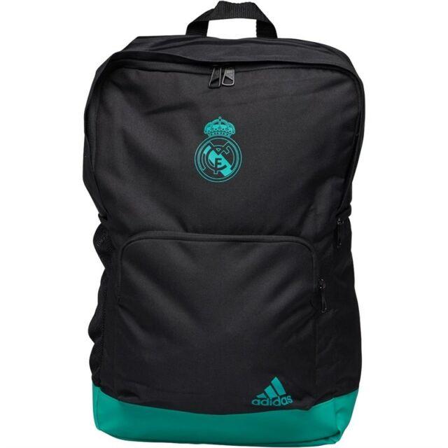 dd999388f Adidas RMCF Real Madrid Backpack Rucksack Training Gym Bag Black Aero Reef  Teal