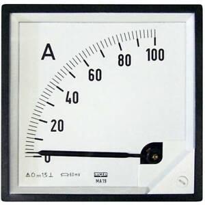Lumel-ma19-100a-60mv-strumento-di-misura-da-incasso-96-x-mm-100-a-cc-60-mv