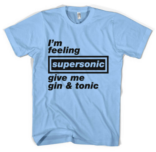 Supersonic Oasis Unisex T-Shirt All Sizes Colours