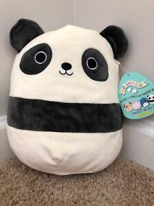 Kellytoy Squishmallow 8/'/' Stanley The Panda Super Soft Plush Toy Pillow Pet A...