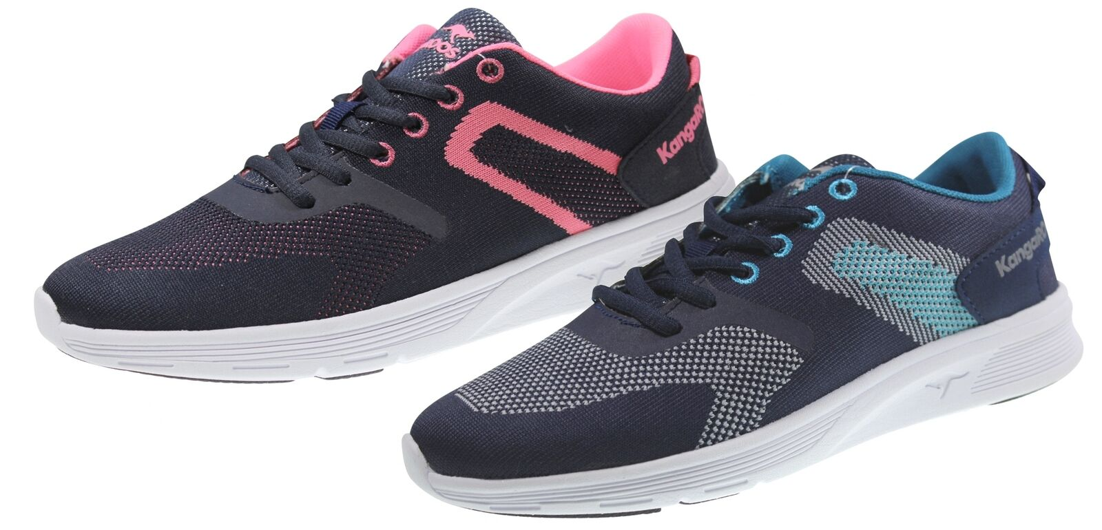 Kangaroos K-Light Turnchaussures femmes Basses Sport chaussures De Course Chaussure Lacée k1+k2
