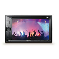 Sony 6.2 Inch Double Din Touch Screen Lcd Dvd Bluetooth Stereo Radio Receiver