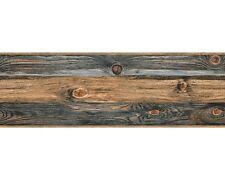 Stick-Ups AS selbstklebende Bordüre 9060-14 Holz Optik braun schwarz grau