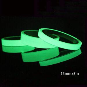 Leucht-folie-300mmx15mm-nachleuchtend-neon-fluoreszierend-Leuchtband-Klebe-band