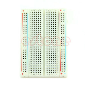 Mini Breadboard Solderless Protoboard PCB Test Board 400 Contacts Tie Points Hot