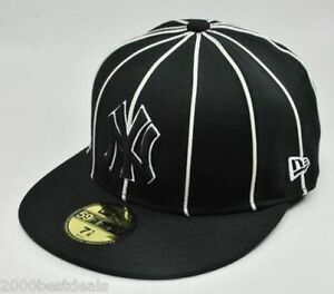 New Era 59Fifty Hat MLB New York Yankees 12 Pack Mens Black White ... 95a92fe670d