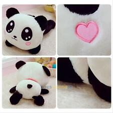 "8"" Cute Plush Doll Toy Stuffed Animal Panda Pillow Cushion Bolster Holiday Gift"