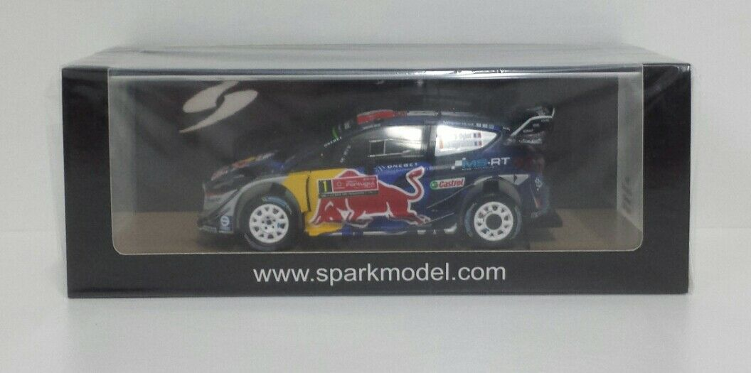 SPARK 1 43 MODEL FORD FIESTA WRC OGIER WINNER RALLY PORTUGAL 2017 S5166