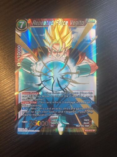 SR Repeated Force Vegito Union Force BT2-012