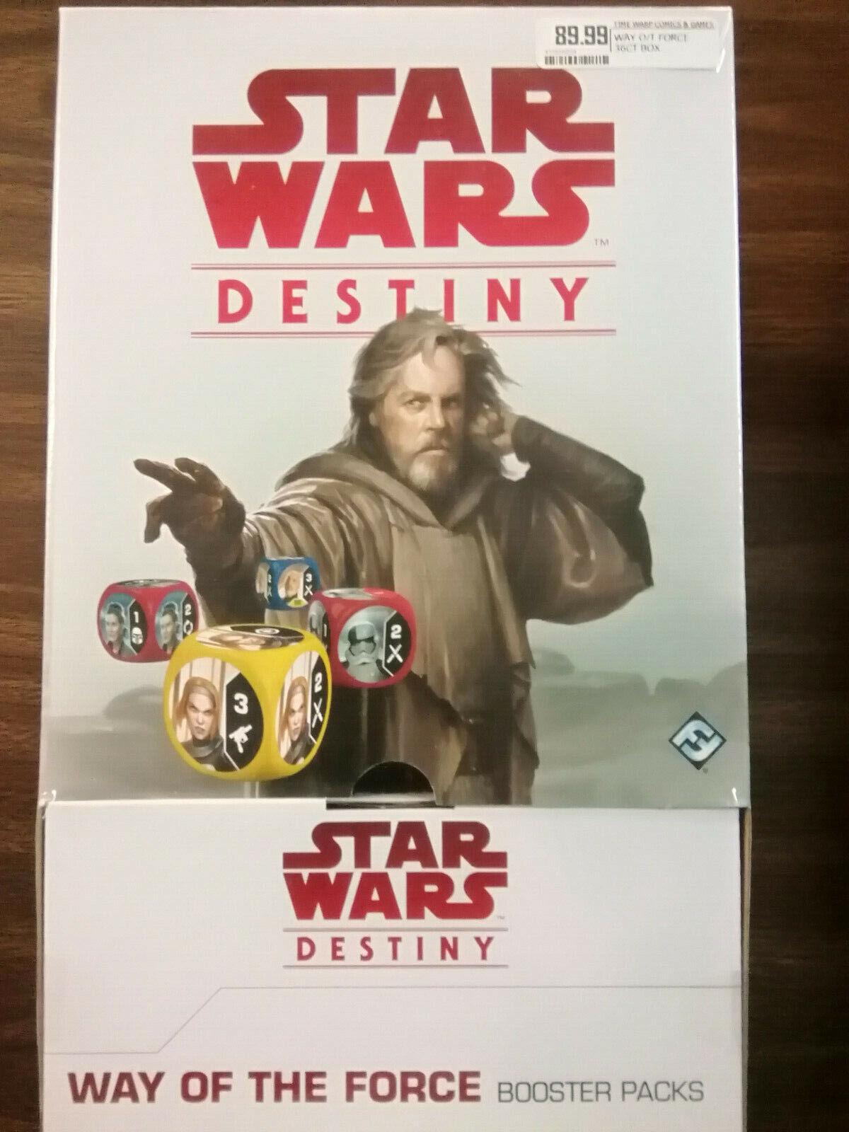 la mejor oferta de tienda online Estrella Wars Wars Wars Destiny of the Force Booster Box Way  ¡No dudes! ¡Compra ahora!