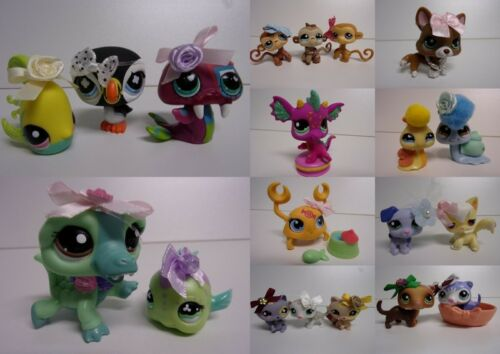littlest pet shop Lps chien  chien chat dragon crabe furet etc...LOT AU CHOIX -D