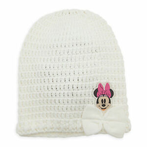 47a118787d7f5 Image is loading Disney-Store-Minnie-Mouse-Embroidered-Knit-Beanie-Toddler-