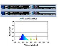 Ati T5 Coral Plus 39 Watt Meerwasser Leuchtstoffröhre 2er Pack
