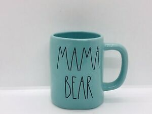 Rae-Dunn-Mom-Collection-By-Magenta-MAMA-BEAR-Farmhouse-Tiffany-Blue-Teal-Mug