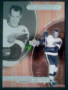 GORDIE-HOWE-99-00-CENTER-STAGE-039-49-50-HOCKEY-INSERT-FOIL-CARD-SP