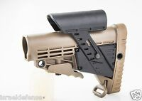 Caa Cbscp-a Khaki Collapsible Stock & Adjustable Cheek Rest Comfort Stabability