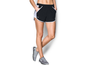 Under-Armour-1297125-Women-039-s-UA-Fly-By-Short-Athletic-Running-Shorts-Black