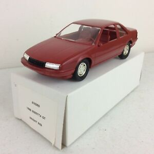 1988-Beretta-GT-Bright-Red-Dealer-Promotional-Model-Car