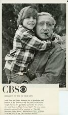 JUSTIN DANA SMILING JAMES WHITMORE MARK I LOVE YOU ORIGINAL 1980 CBS TV PHOTO