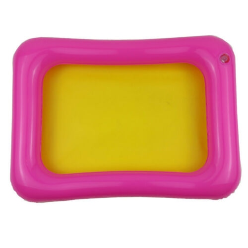 LK/_ Kids Indoor PVC Inflatable Castle Sand Box Sandbox Tray Table Fun Play Toy